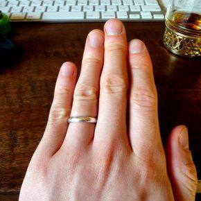 金属:銀の指輪