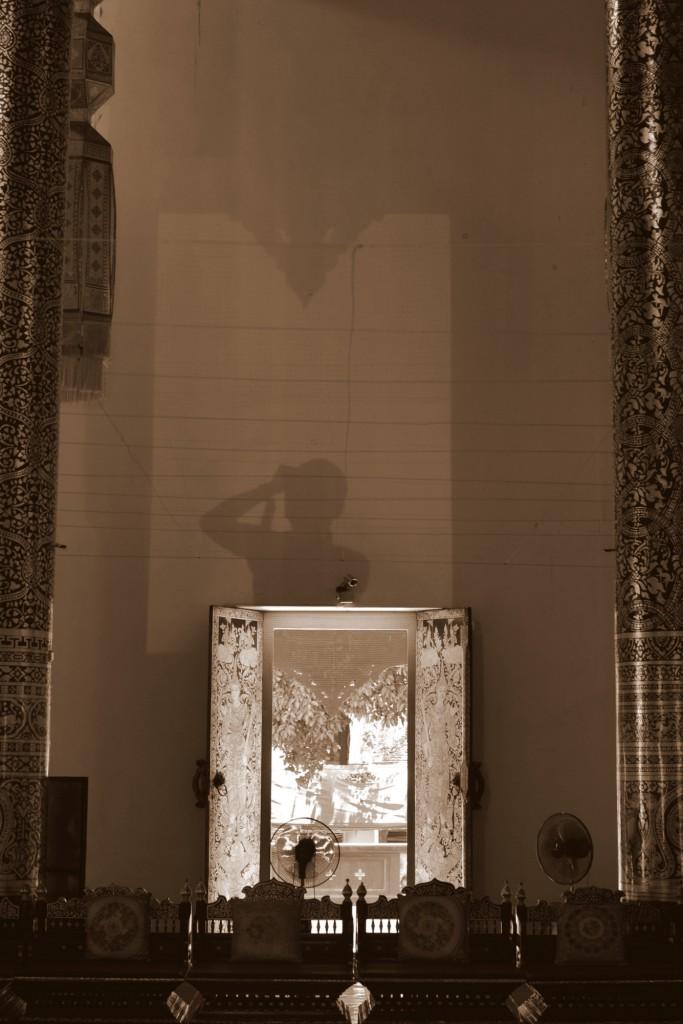チェンマイ自分の影