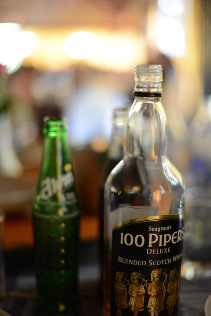 2013ランパーン/結婚式場でのお酒