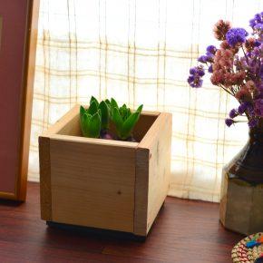 木の鉢(ヒヤシンス用)