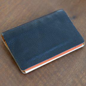 縫わない皮革の手帳