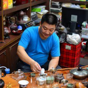 上海中国茶を買うお店
