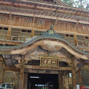 愛媛で一番のパワースポット「仙龍寺」