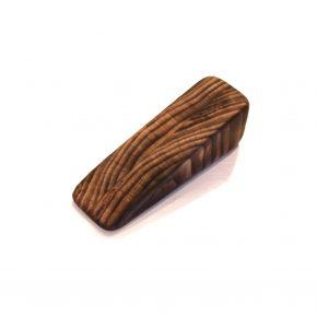 ヒノキのまな板の端材で作ったドアストッパー