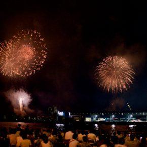 神戸の花火大会2016年
