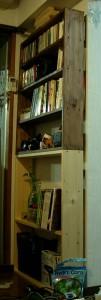 本棚とCD棚(1×6パイン材)
