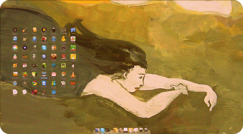 macデスクトップ使い方
