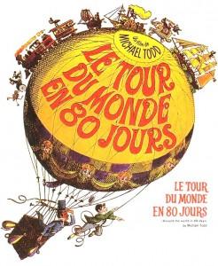 八十日間世界一周(はちじゅうにちかんせかいいっしゅう、Le tour du monde en quatre-vingt jours) ジュール・ヴェルヌ 1872年 Le-Tour-du-monde-en-80-jours