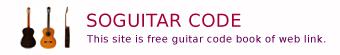 SOGUITAR 楽譜・コード表・歌詞・ジャパニーズポップ・コードブック曲の検索リンクサイト -SOGOODS.NET-